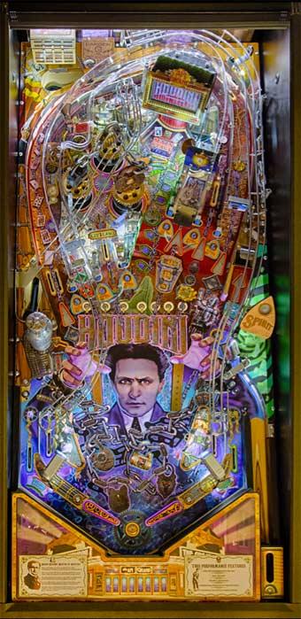 The Magic Cafe Forums - New Houdini Pinball Machine!!